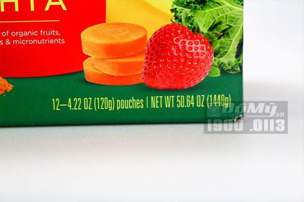Nước trái cây rau củ Shine Organics