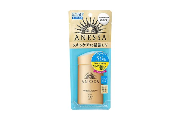 Kem chống nắng Anessa Shiseido màu vàng đồng 60ml