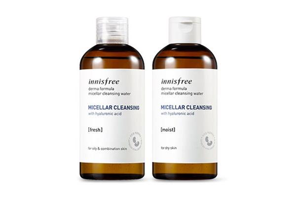 Nước tẩy trang Innisfree Derma Formula Micellar Cleansing Water (250ml)