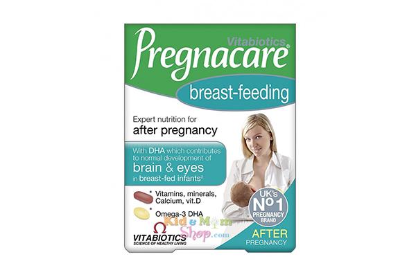 Vitamin tổng hợp cho phụ nữ sau sinh Pregnacare Breast Feeding 84 viên của Mỹ