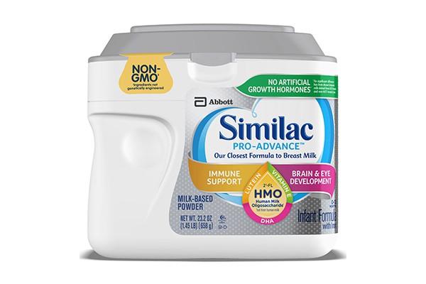 Sữa Similac Pro Advance Non GMO - HMO cho bé từ 0 - 12 tháng 658g của Mỹ