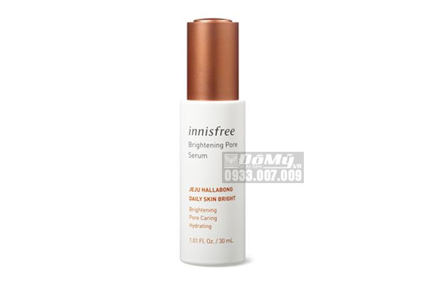 Tinh Chất Dưỡng Trắng Da, Mờ Thâm Innisfree Brightening Pore Serum 30ml