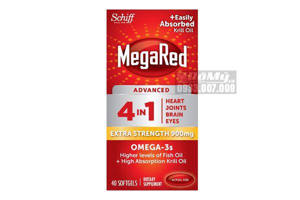 Viên uống Schiff Megared Advanced 4in1 - 40 viên