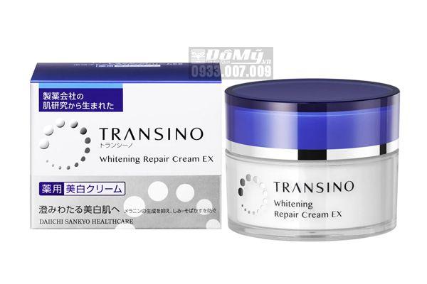 Kem Transino Whitening Repair Cream tái tạo và dưỡng trắng da của Nhật