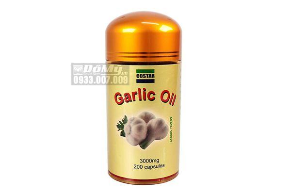 Tinh dầu tỏi Garlic 3000mg 200 viên Costar nhập từ Úc