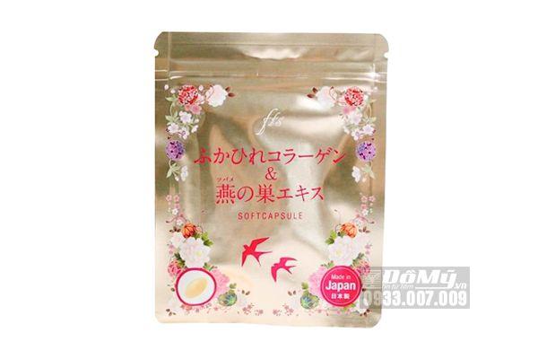Viên uống collagen tươi Softcapsule chiết xuất tổ yến 30 viên Nhật Bản