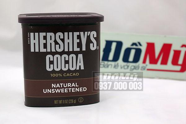 Bột Chocolate Hershey's Cocoa của Úc loại 226g