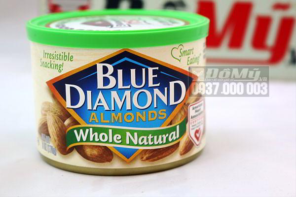 Hạt Hạnh Nhân Blue Diamond của Mỹ loại 170g