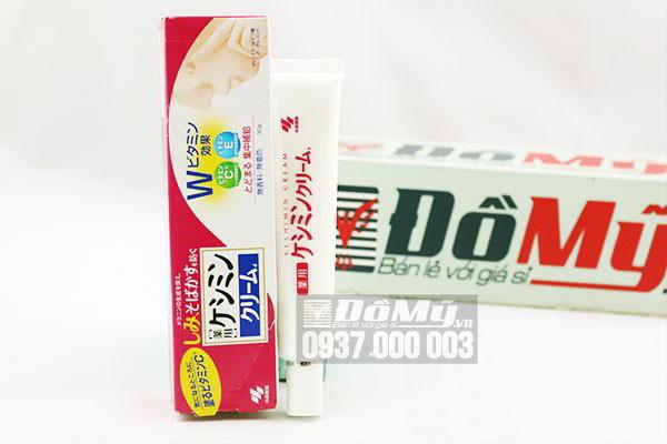 Kem trị nám trắng da Keshimin cream 30g của Nhật Bản