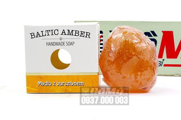 Xà phòng hổ phách Baltic Amber Hand Made Soap 100g của Balan