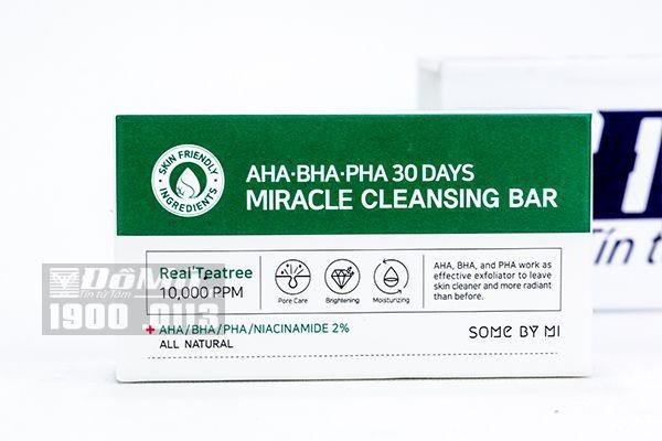 Xà phòng thần kì trị mụn body Miracle Soap