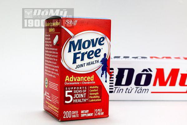 Viên uống bổ khớp Schiff Move Free Joint Health Advanced 200 viên của Mỹ