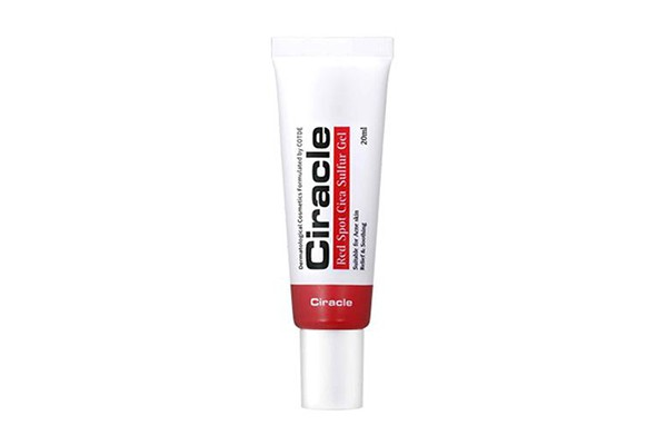 Gel trị mụn Ciracle Red Spot Cica Sulfur Gel 20ml