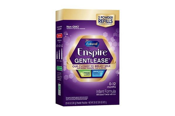 Sữa công thức Enfamil Enspire Gentlease chuyên biệt cho trẻ đầy hơi, khó tiêu, nôn trớ, khóc đêm 822g