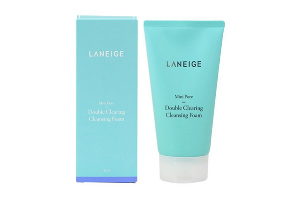 Sữa rửa mặt Laneige Mini Pore Double Clearing Cleansing Foam 150ml
