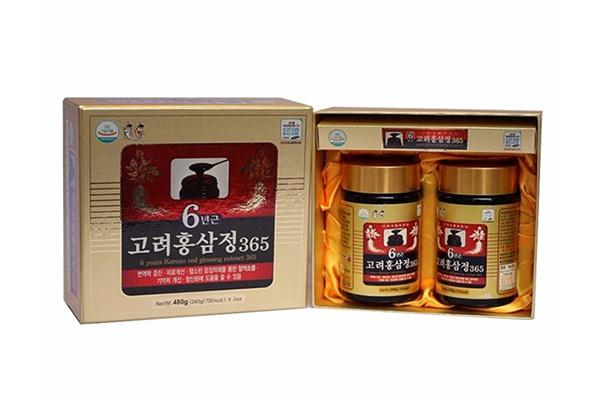 Cao hồng sâm Hàn Quốc 6 năm tuổi hộp 2 lọ * 240g