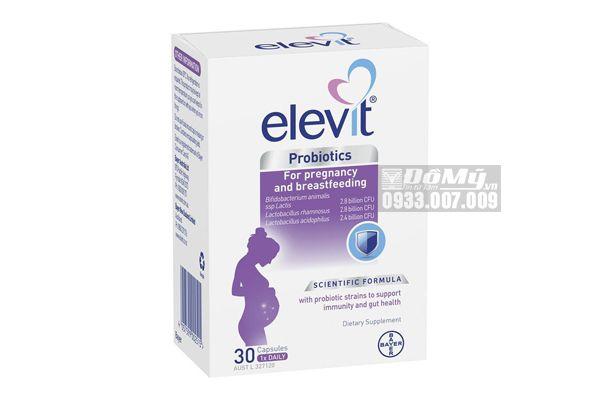 Viên uống Elevit Probiotics for Pregnancy & breastfeeding bổ sung lợi khuẩn đường ruột cho mẹ bầu của Úc