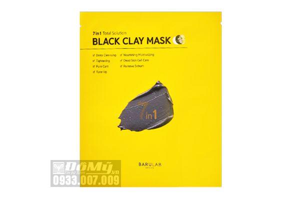 Mặt nạ bùn 7 bước trong 1 Barulab Black claymask