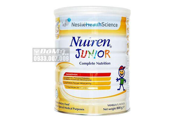 Sữa bột Nutren Junior dành cho trẻ biếng ăn suy dinh dưỡng 800g
