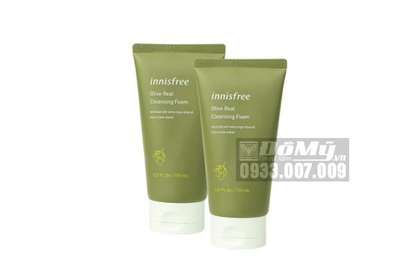Sữa Rửa Mặt Từ Olive Innisfree Olive Real Cleansing Foam 150ml-Hàn
