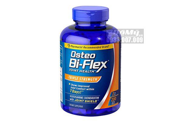 Viên uống bổ khớp Osteo Bi-Flex Triple Strength 200 viên của Mỹ