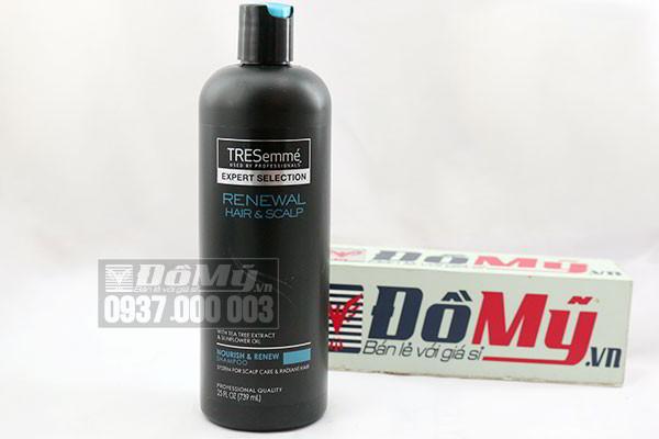 Dầu gội của Mỹ TREsemme Renewal Hair & Scalp loại 739ml