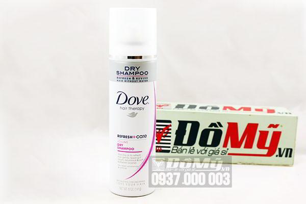 Dầu gội khô Dove Hair Therapy loại 141g của Mỹ