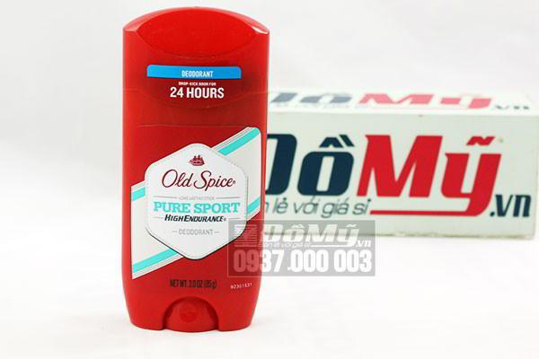 Sáp khử mùi nam cao cấp của Mỹ Old Spice Pure Sport loại 85g