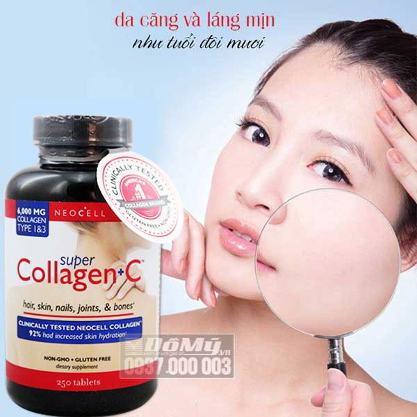 Super Collagen loại 250 viên giảm lão hoá - Mỹ