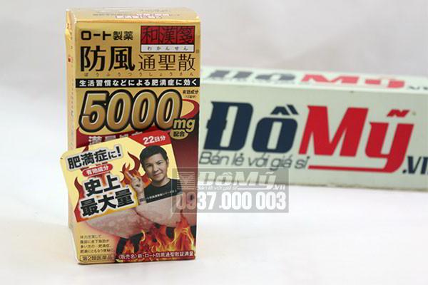 Viên uống giảm cân, giảm mỡ bụng Rohto 5000mg 264 viên của Nhật Bản