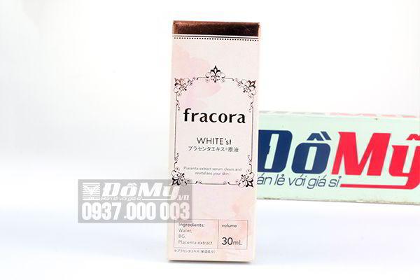 Serum nhau thai Fracora White'st Placenta Extract 30ml của Nhật Bản