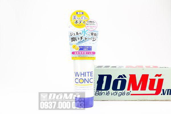Kem dưỡng ẩm trắng da White Conc Watery Cream 90g của Nhật Bản