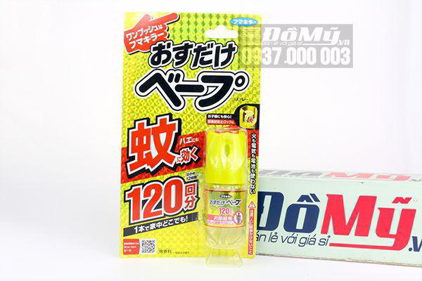 Chai xịt muỗi Scan Here 28ml của Nhật