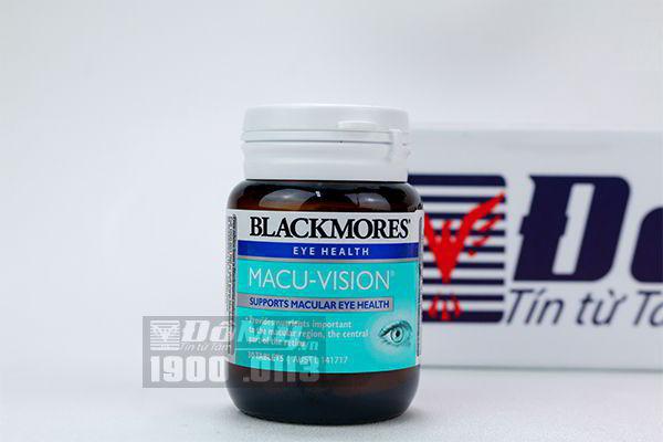 Viên uống bổ mắt Blackmores Macu-Vision 30 viên
