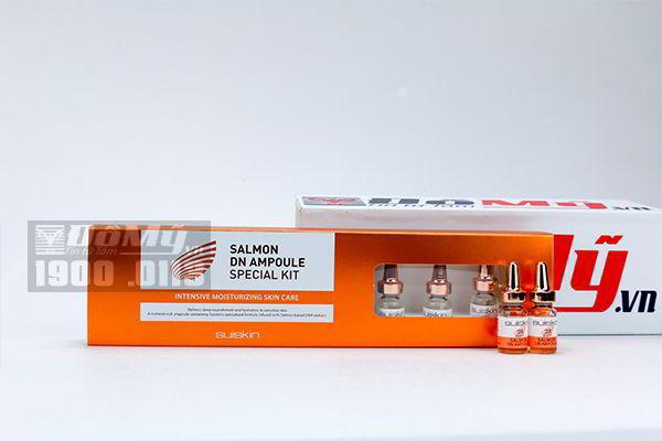 Set 7 ống tế bào gốc Salmon DN Ampoule Suikin (màu cam)