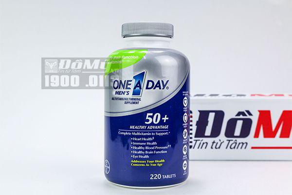 Vitamin Tổng Hợp Nam Giới Trên 50 Tuổi One A Day 220 viên nhập từ Mỹ