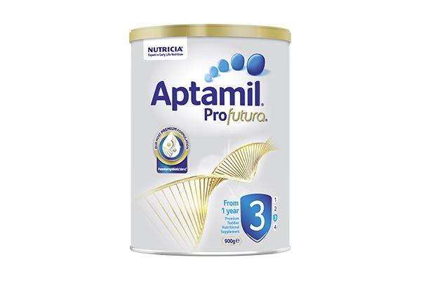 Sữa bột dành cho trẻ từ 1 - 2 tuổi Aptamil Profutura Step 3 900g