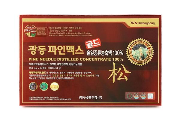 Viên uống tinh dầu thông đỏ Kwangdong Hàn Quốc 120 viên