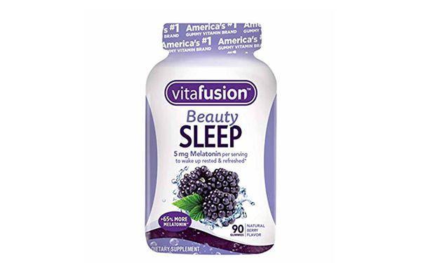 Kẹo dẻo hỗ trợ ngủ ngon Vitafusion Beauty Sleep Mỹ