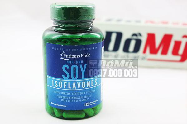 Viên Mầm Đậu Nành Non-GMO Soy Isoflavones 120 viên