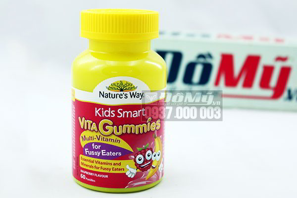 Nature's Way Kids Smart Vita Gummies Multi Vitamin 60 viên của Úc