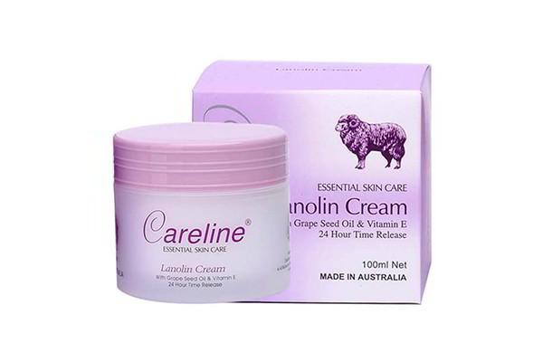 Kem dưỡng da nhau thai cừu Lanolin Careline của Úc loại 100g