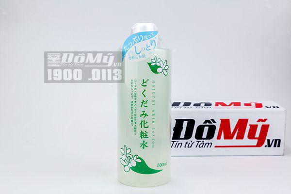Nước hoa hồng diếp cá Dokudami Natural Skin Lotion (500ml)