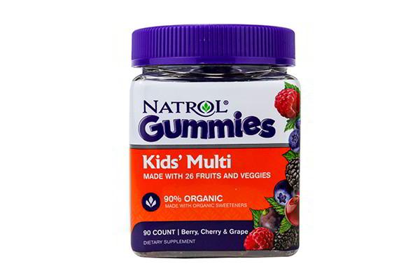 Kẹo dẻo Natrol Gummies Kids Multi 90 viên