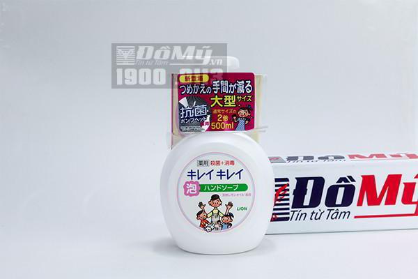 Nước rửa tay Lion Nhật Bản 500ml