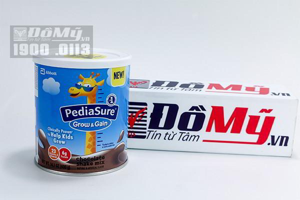 Sữa Pediasure Shake Mix hương chocolate 400g