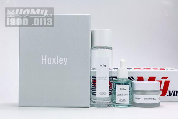 Set dưỡng da Huxley Brightening Trio