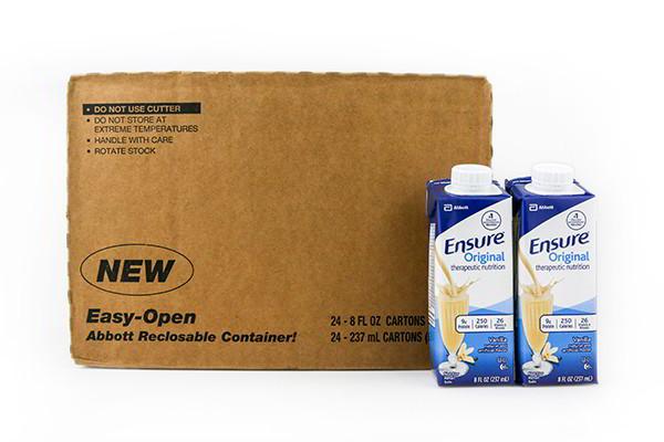 Thùng 24 sữa nước Ensure Vani 237ml (NEW)