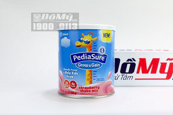 Sữa Pediasure Shake Mix hương dâu 400g - Mỹ