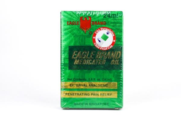 Dầu gió xanh Mỹ Eagle Brand Medicated Oil 24ml